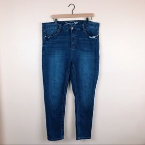 Seven for all mankind jeans size 12 blue jean